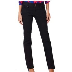 Lilly Pulitzer Worth straight jeans black size 0